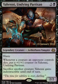 Yahenni, Undying Partisan - Prerelease