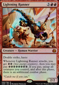Lightning Runner - Prerelease