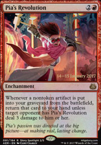 Pia's Revolution - Prerelease