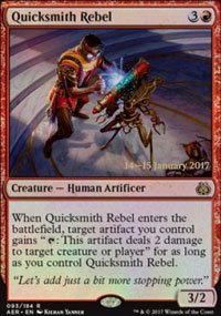 Quicksmith Rebel - Prerelease