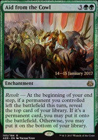 Aid from the Cowl - Prerelease