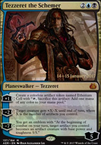 Tezzeret the Schemer - Prerelease