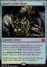 Gonti's Aether Heart - Prerelease Promos