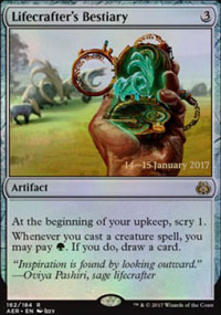 Lifecrafter's Bestiary - Prerelease Promos