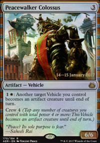 Peacewalker Colossus - Prerelease
