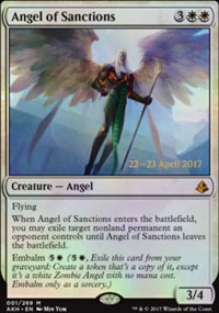 Angel of Sanctions - Prerelease