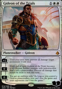 Gideon of the Trials - Prerelease