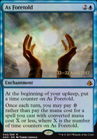 As Foretold - Prerelease Promos