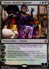 Liliana, Death's Majesty - Prerelease