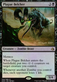 Plague Belcher - Prerelease