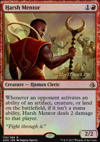 Harsh Mentor - Prerelease