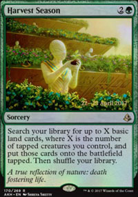 Harvest Season - Prerelease