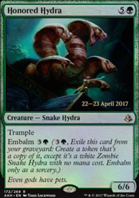Honored Hydra - Prerelease