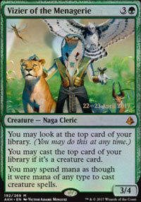 Vizier of the Menagerie - Prerelease