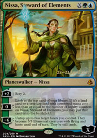 Nissa, Steward of Elements - Prerelease
