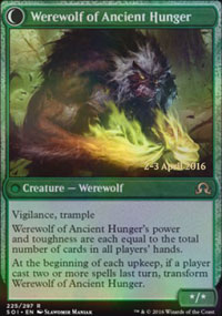 Werewolf of Ancient Hunger - Prerelease