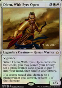 Djeru, With Eyes Open - Prerelease