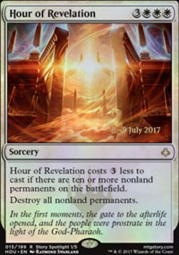 Hour of Revelation - Prerelease