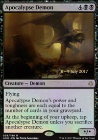 Apocalypse Demon - Prerelease