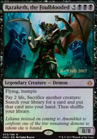 Razaketh, the Foulblooded - Prerelease