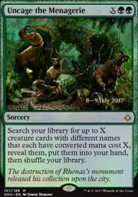 Uncage the Menagerie - Prerelease