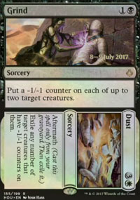 Grind / Dust - Prerelease Promos