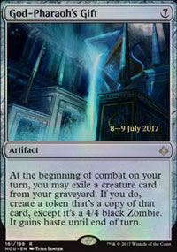 God-Pharaoh's Gift - Prerelease