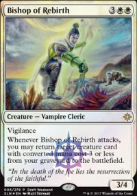 Bishop of Rebirth - Prerelease Promos