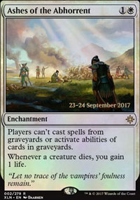Ashes of the Abhorrent - Prerelease