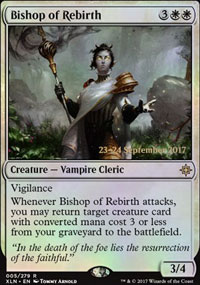 Bishop of Rebirth - Prerelease