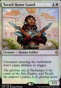 Tocatli Honor Guard - Prerelease