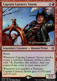 Captain Lannery Storm - Prerelease Promos