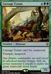 Carnage Tyrant - Prerelease Promos