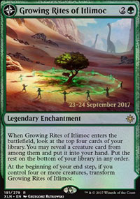 Growing Rites of Itlimoc - Prerelease
