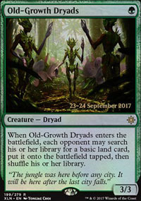 Old-Growth Dryads - Prerelease