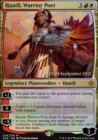 Huatli, Warrior Poet - Prerelease