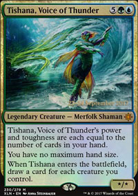 Tishana, Voice of Thunder - Prerelease