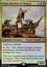 Vona, Butcher of Magan - Prerelease