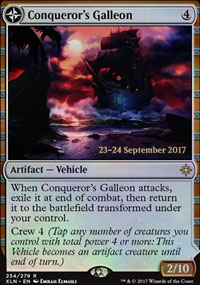Conqueror's Galleon - Prerelease