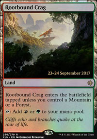 Rootbound Crag - Prerelease