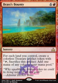 Brass's Bounty - Prerelease Promos