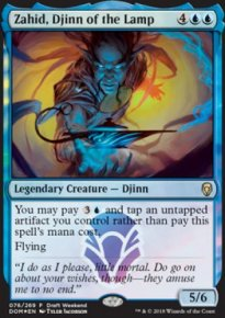 Zahid, Djinn of the Lamp - Prerelease Promos