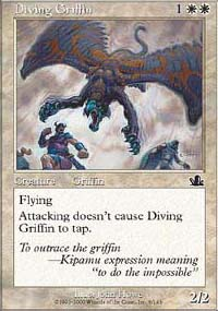 Diving Griffin - Prophecy