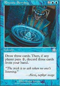 Rhystic Scrying - Prophecy
