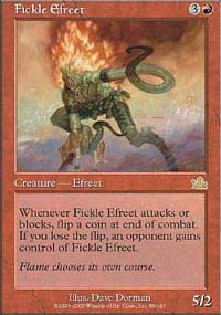 Fickle Efreet - Prophecy