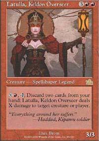 Latulla, Keldon Overseer - Prophecy