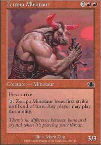 Zerapa Minotaur - Prophecy