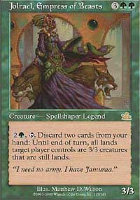 Jolrael, Empress of Beasts - Prophecy
