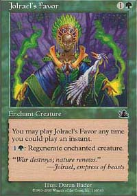 Jolrael's Favor - Prophecy