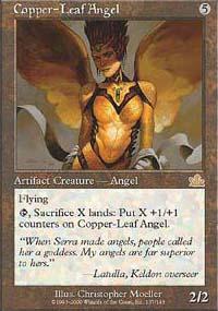 Copper-Leaf Angel - Prophecy